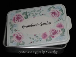 Personalized Cake Pan Cover